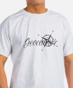 Geocaching Tattoo Compass T-Shirt