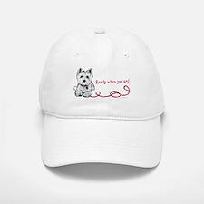 Westhighland White Terrier Re Baseball Baseball Cap