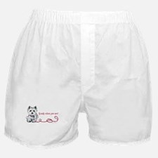 Westhighland White Terrier Re Boxer Shorts