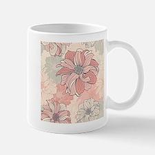 Vintage Floral Mugs
