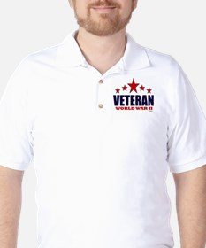 Veteran World War II Golf Shirt