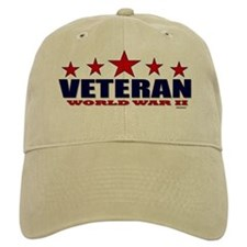 Veteran World War II Cap