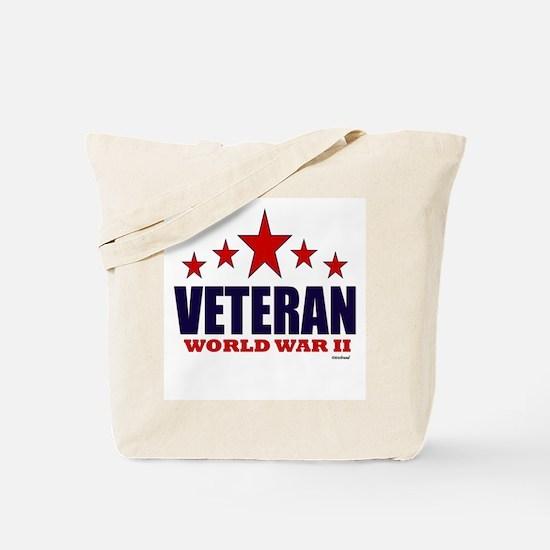 Veteran World War II Tote Bag