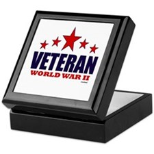 Veteran World War II Keepsake Box
