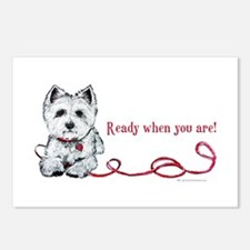 Westhighland White Terrier Re Postcards (Package o