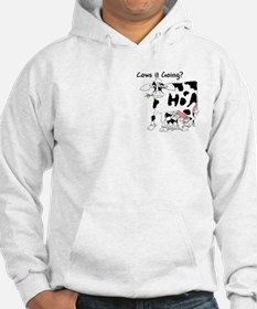 Cartoon Cow Hoodie