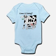 Cartoon Cow Infant Bodysuit