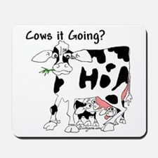 Cartoon Cow Mousepad