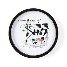 Cartoon Cow Wall Clock