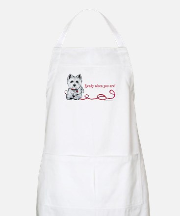 Westhighland White Terrier Re BBQ Apron
