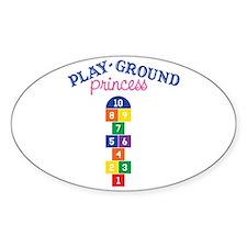 Play-ground Princess Decal