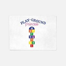 Play-ground Princess 5'x7'Area Rug