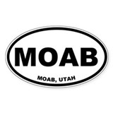 Moab Stickers