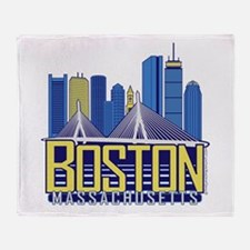 Boston Throw Blanket