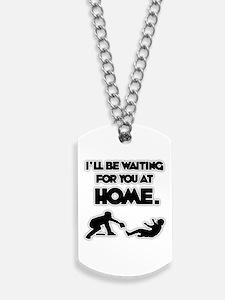 WAITING Dog Tags
