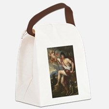 Vintage Paintng of Adonis Canvas Lunch Bag