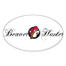 Beaver Hunter Decal