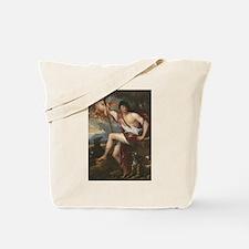 Vintage Paintng Of Adonis Tote Bag