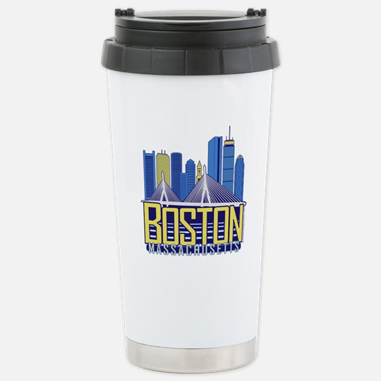 Boston Stainless Steel Travel Mug