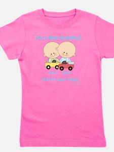 New Grandma Twin Boys Customizable Girl's Tee