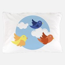 Birds Circle Pillow Case