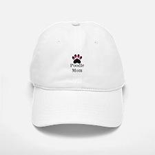 Poodle Mom Paw Print Baseball Baseball Baseball Cap