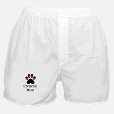 Frenchie Mom Paw Print Boxer Shorts