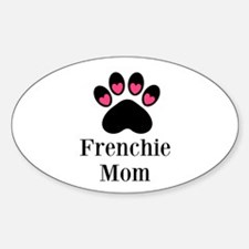 Frenchie Mom Paw Print Decal