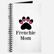 Frenchie Mom Paw Print Journal