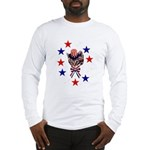 Independence Day Kitten Long Sleeve T-Shirt
