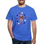 Independence Day Kitten Dark T-Shirt