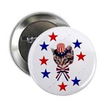 Independence Day Kitten Button