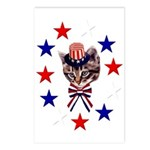 Independence Day Kitten Postcards (Package of 8)