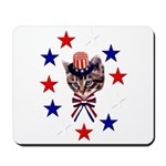 Independence Day Kitten Mousepad