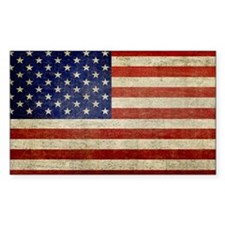 5x3rect_sticker_american_flag_old Decal