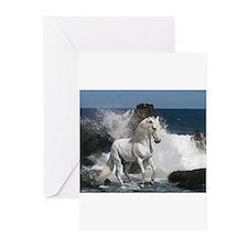 Ocean Stallion Greeting Cards