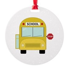 School Bus Ornament