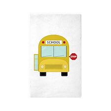 School Bus 3'x5' Area Rug