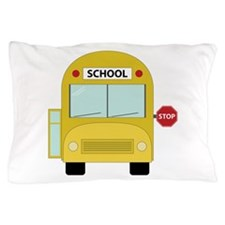 School Bus Pillow Case