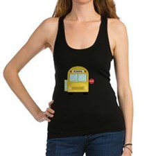 School Bus Racerback Tank Top