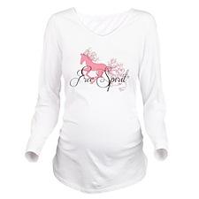 Free Spirit Long Sleeve Maternity T-Shirt