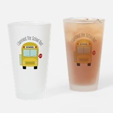 I Survied The School Bus Drinking Glass