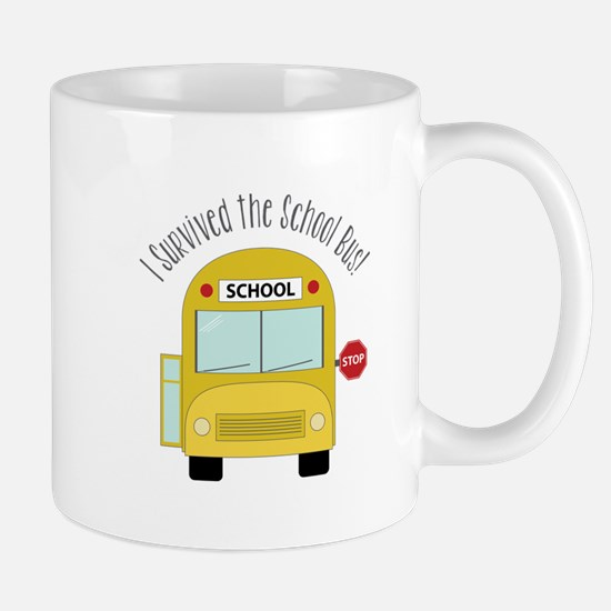 I Survied The School Bus Mugs