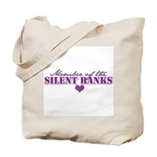 Unique Silent ranks Tote Bag