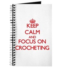 Funny Keep calm and crochet Journal