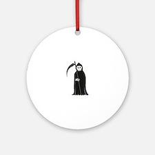 Grim Reaper Ornament (Round)