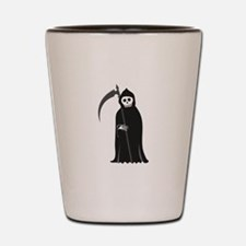 Grim Reaper Shot Glass