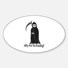 Why Are You Running? Decal