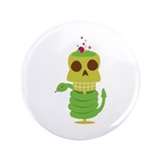 "Halloween Cocktail 3.5"" Button (100 pack)"