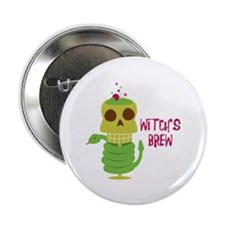 "Witch's Brew 2.25"" Button (10 pack)"